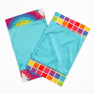One Grace Place Terrific Tie-dye Burp Cloth