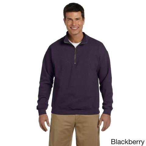 Gildan Men's Heavy Blend Vintage Classic Quarter-zip Cadet 8-ounce Collar Sweatshirt