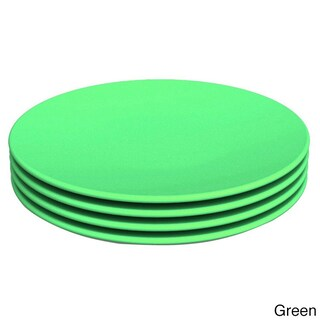 Green Eats Snack Plate (4 Pack) (Option: Green)