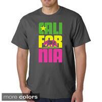 Los Angeles Pop Art Men's California T-shirt