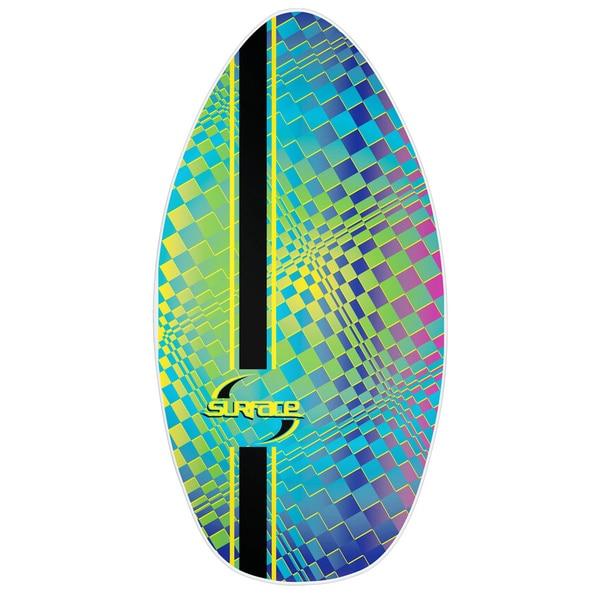 Surface 40-inch Wood Laminate PSYCH Skim Board