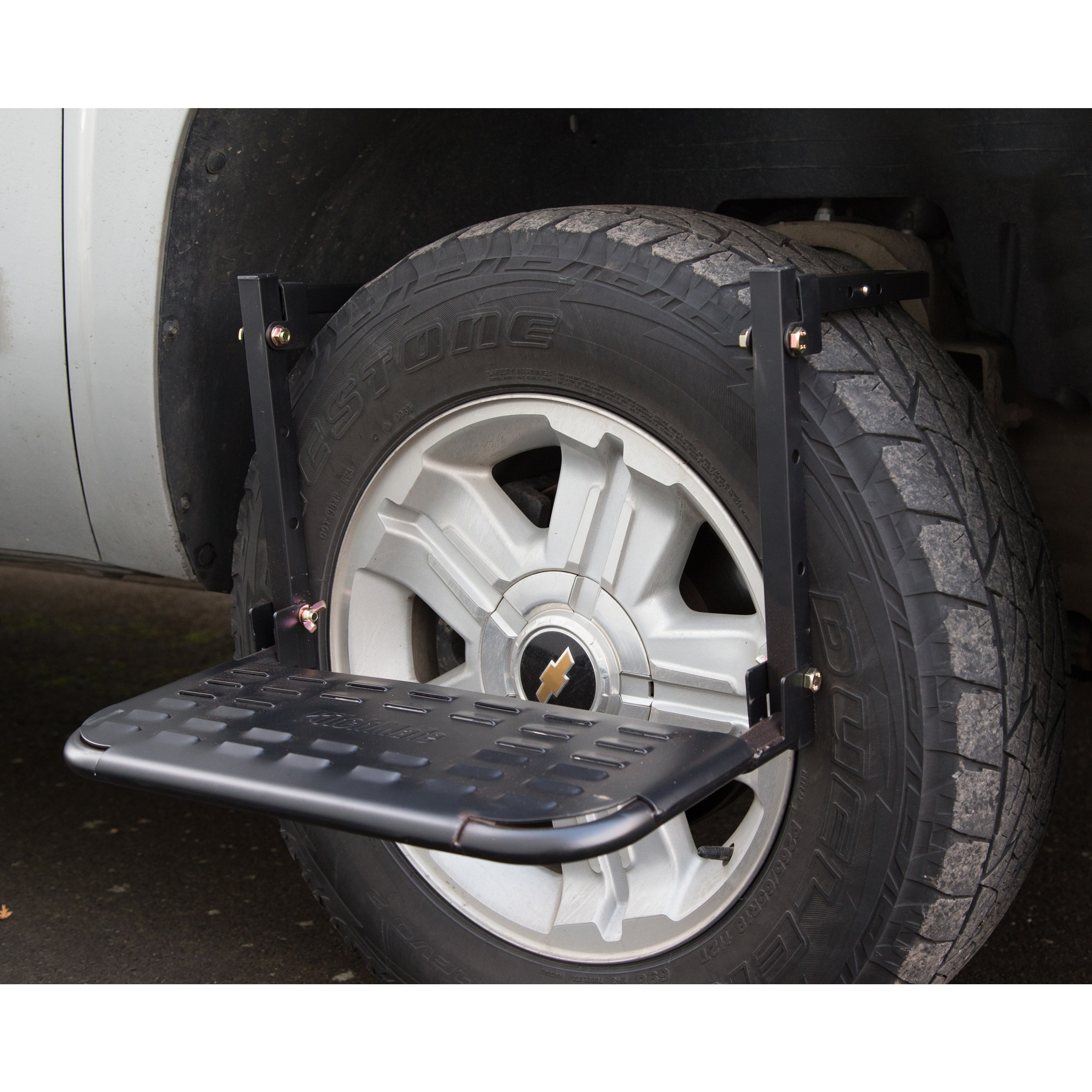 HitchMate Tire Step for Truck and SUV (TireStep), Black