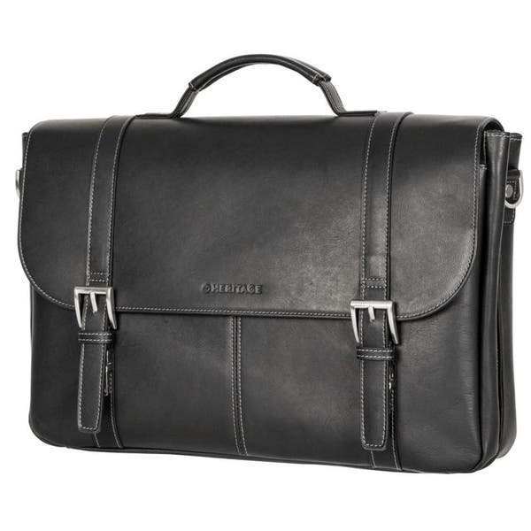 3d3c46ef27b Shop Heritage Travelware Full Grain Colombian Leather Dual ...