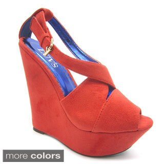 Luvs Women's 'Roxana' Platform Wedges (More options available)