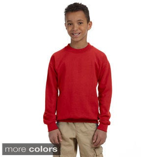 Gildan Youth's Heavy Blend 8-ounce Fleece Crew