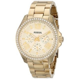 Fossil Women's AM4482 Cecile Stainless Steel Watch|https://ak1.ostkcdn.com/images/products/9181984/P16356867.jpg?impolicy=medium