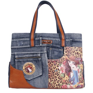 Nicole Lee Wanda Sandra Print 16-inch Laptop Tote Bag
