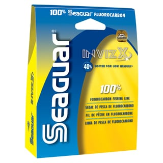 Seaguar Invizx 100-percent Fluorocarbon Fishing Line