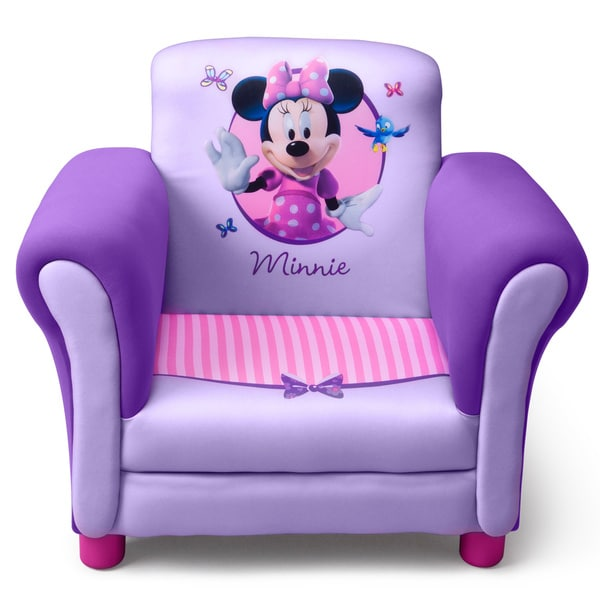 Shop Delta Minnie Mouse Purple Upholstered Children's ...