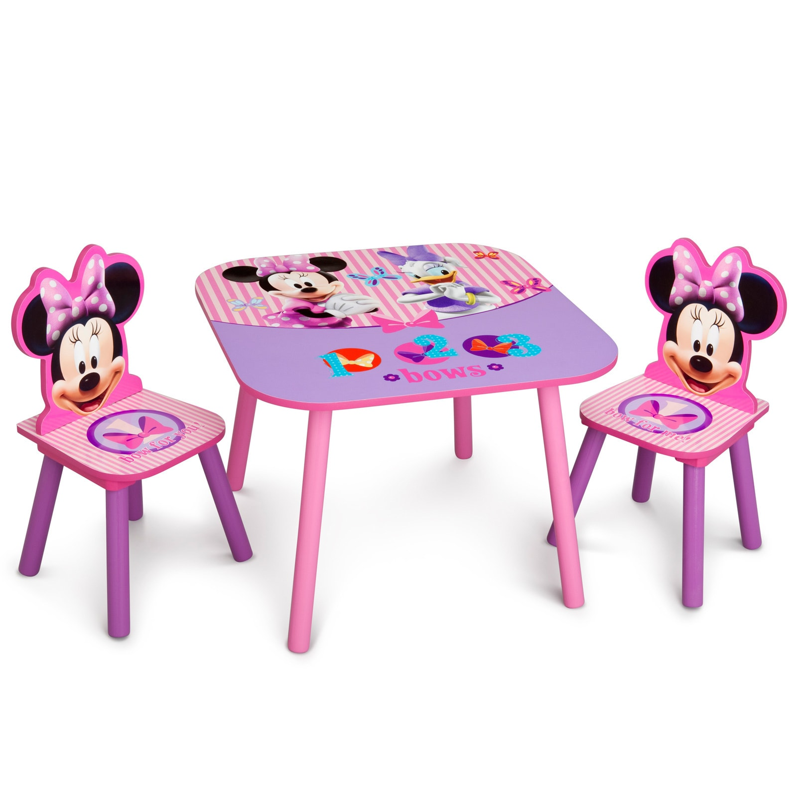 Delta Children Disney Minnie Mouse Wooden Table and Chair...