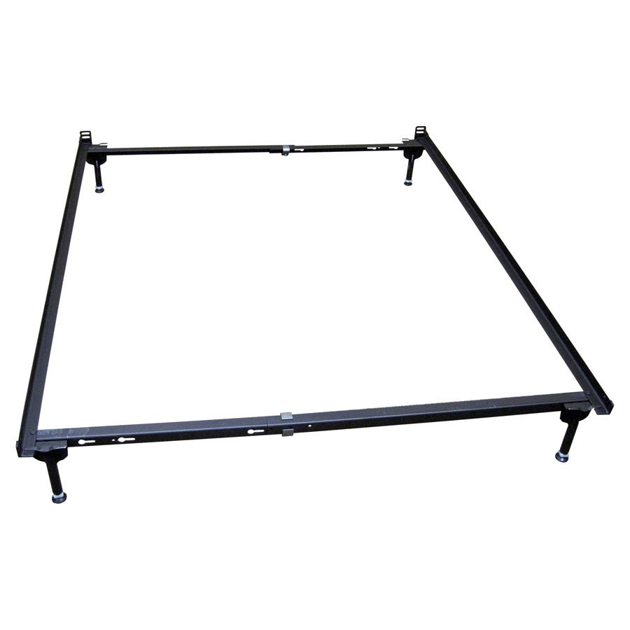 Delta Crib Metal Full-size Conversion Bed Frame (Black Fu...