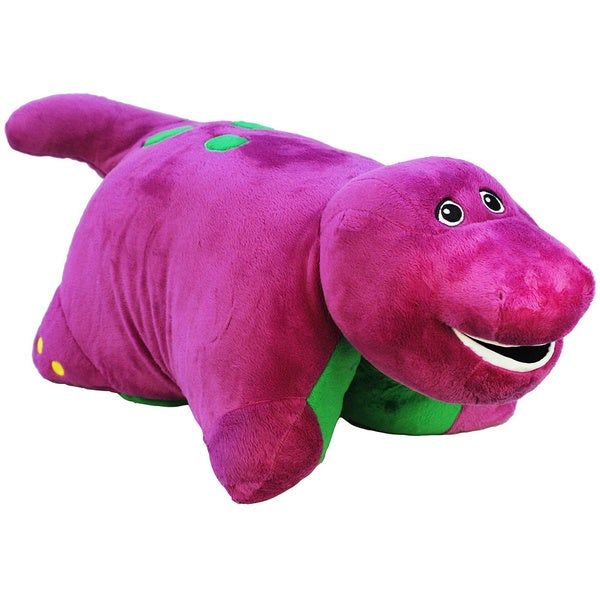 Pillow Pet 18 Inch Barney Stuffed Animal Free Shipping