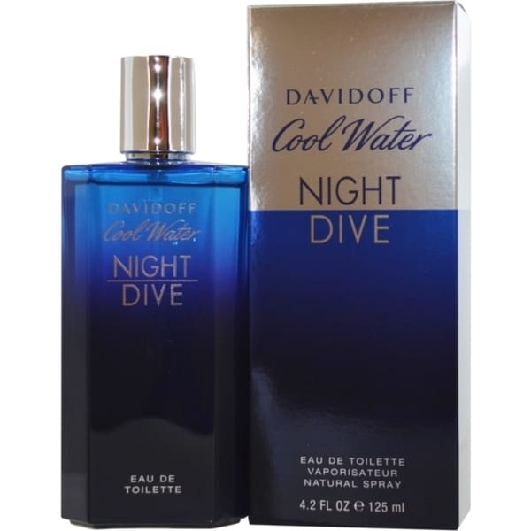 Shop zino davidoff cool water night dive men 39 s 4 2 ounce - Davidoff night dive ...