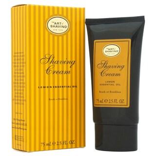 The Art of Shaving Lemon Men's 2.5-ounce Shaving Cream