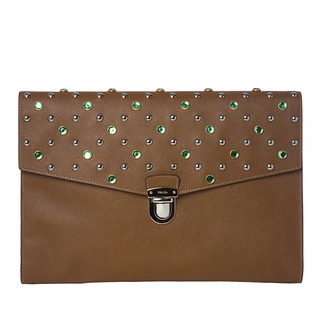 Prada Jeweled Briefcase (As Is Item)