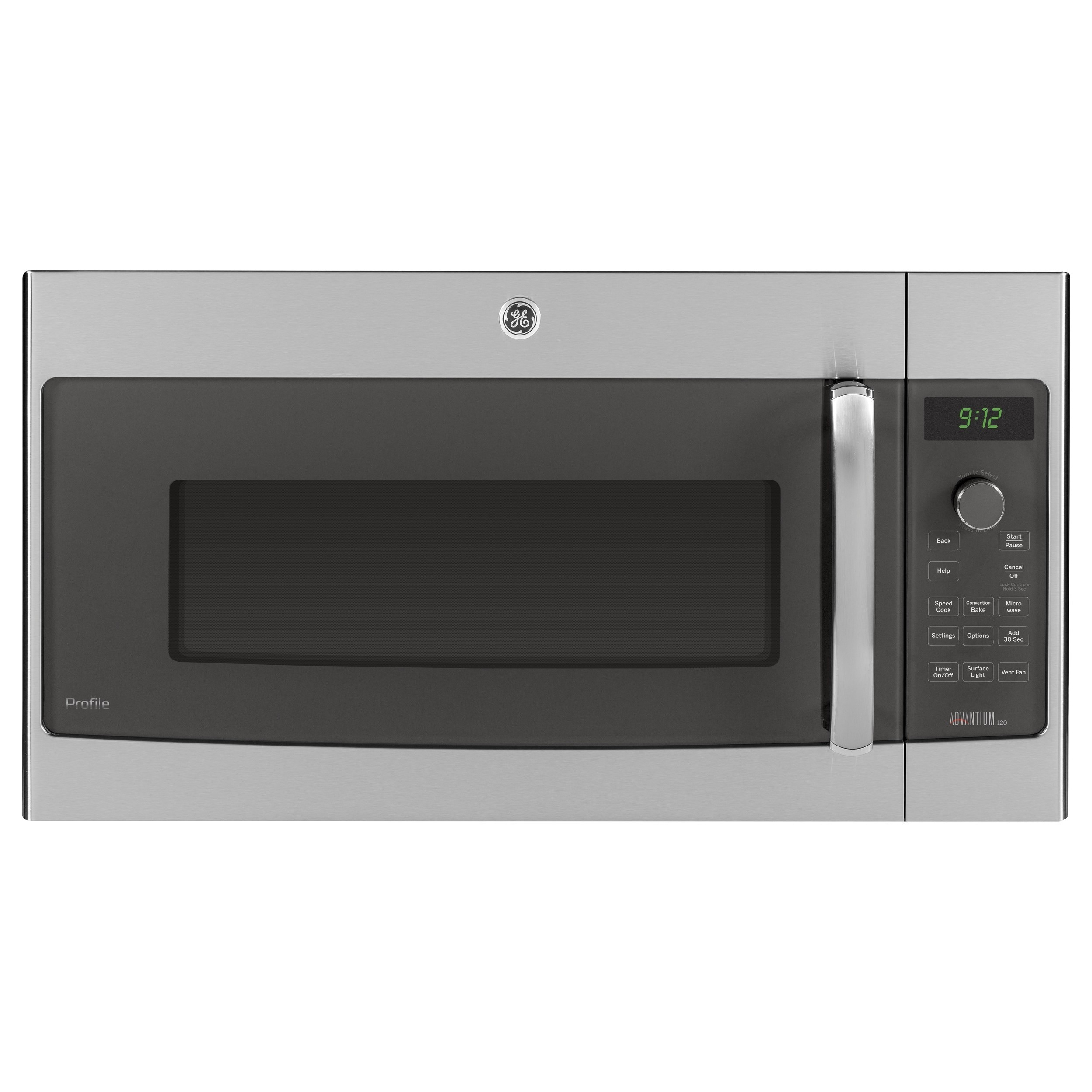 GE Profile Advantium Stainless Steel 1.7 Cubic-foot Over-...