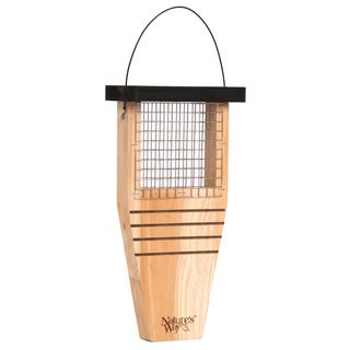 Natures Way Advanced Bird Products CWF1 Cedar Tail Prop Suet Wild Bird Feeder