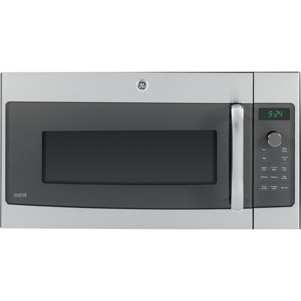 Convert Countertop Microwave To Over Range : GE Stainless Steel Over-the-Range Microwave Oven with 1.7 Cubic Feet ...