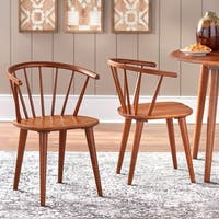Simple Living Florence Dining Chairs (Set of 2) - N/A