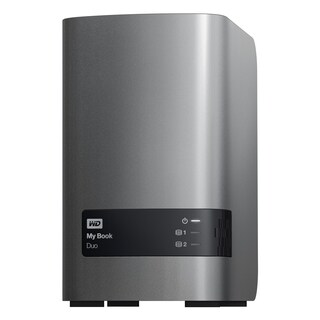 WD My Book Duo WDBLWE0080JCH-NESN DAS Array - 2 x HDD Supported - 8 T