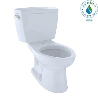 TOTO Eco Drake with Sanagloss and Elongated Bowl Toilet