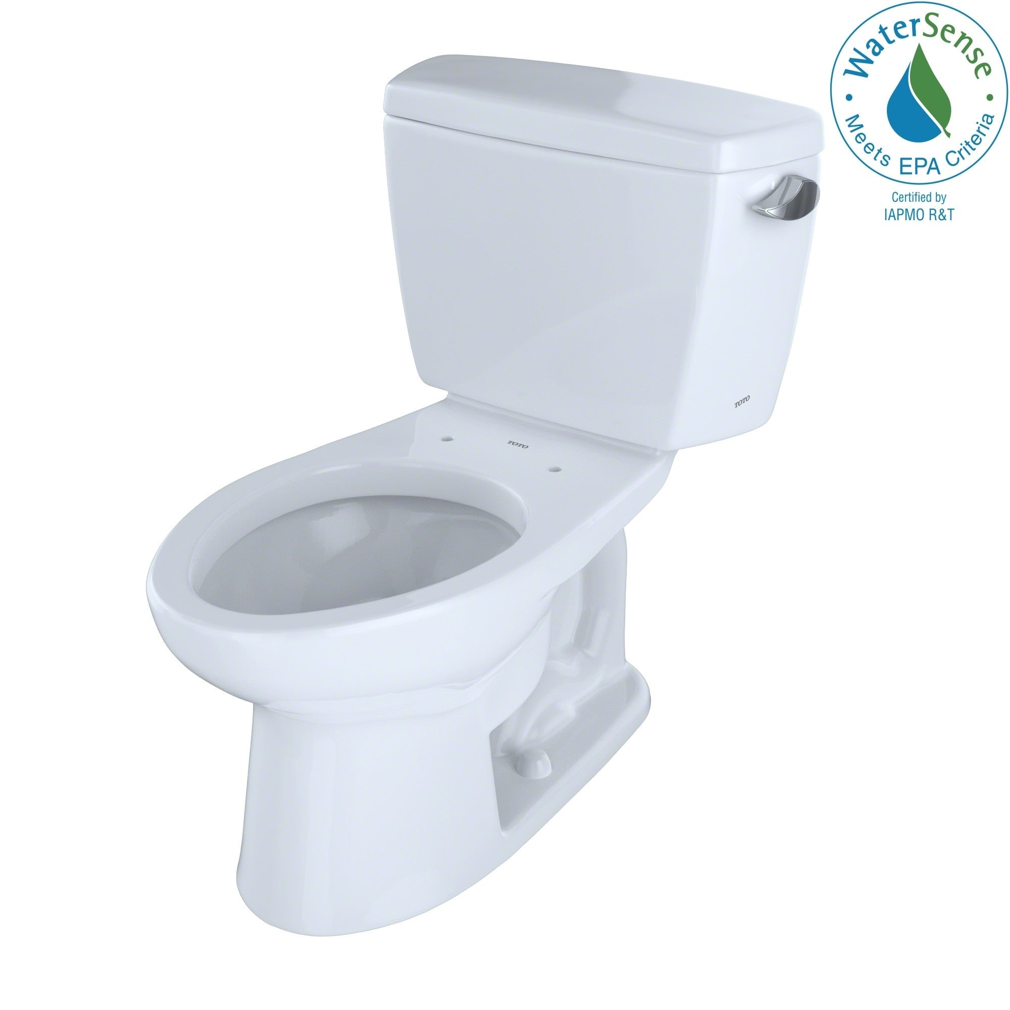 Toto Drake 2-piece Eco Elongated Ada Toilet with Right-Ha...