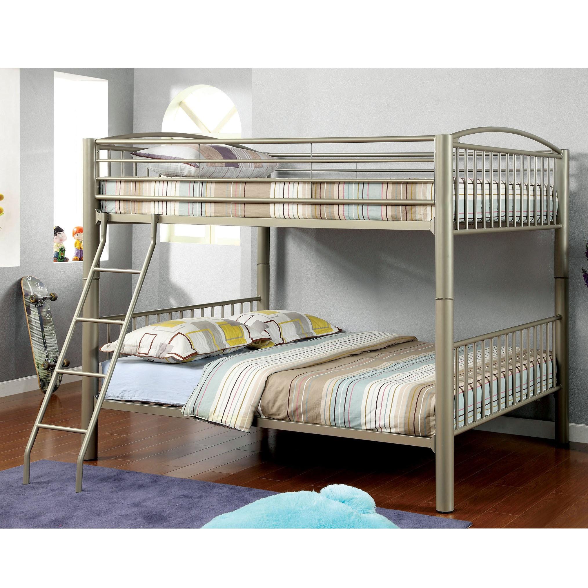 Furniture of America Olivane Modern Metallic Gold Full-Fu...