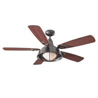 Monte Carlo Morton 1-light 52-inch Oil Can Ceiling Fan
