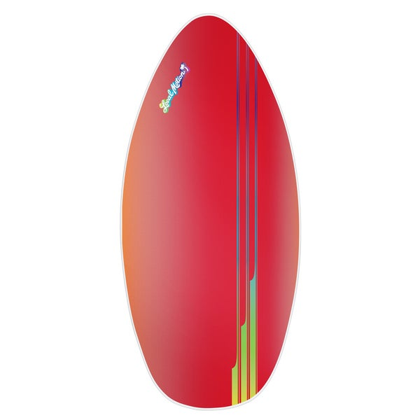 Local Motion 45-inch Wood Laminate Red Skimboard