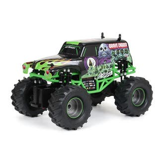 New Bright 1:15 Remote Control Full Function Monster Jam Grave Digger|https://ak1.ostkcdn.com/images/products/9183280/P16357734.jpg?impolicy=medium