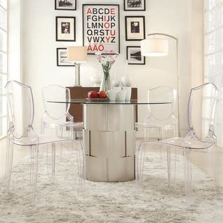 Elbridge Woven Drum Glass Dining Table by iNSPIRE Q Bold|https://ak1.ostkcdn.com/images/products/9183295/P16357760.jpg?impolicy=medium