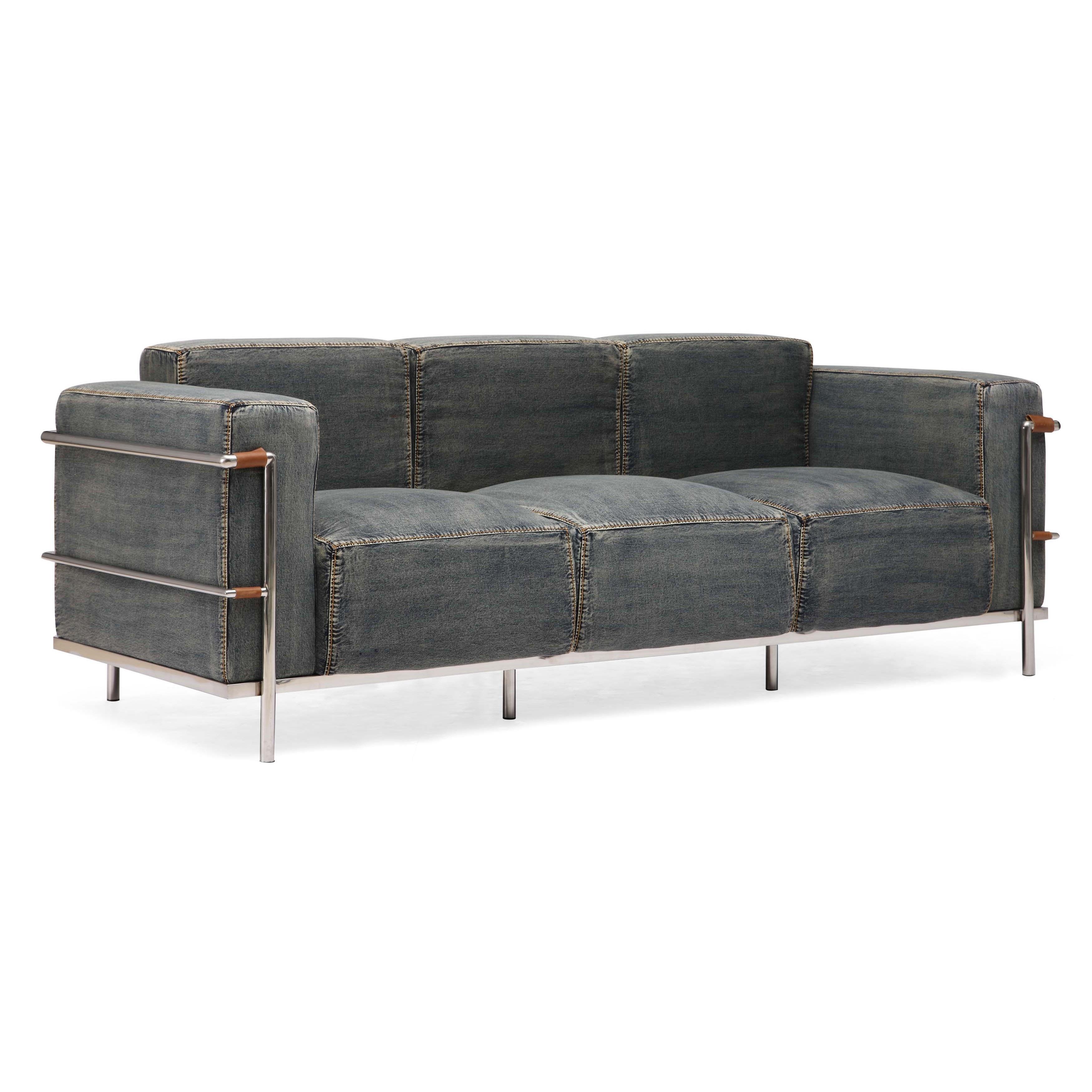 Lasso Blue Denim Sofa