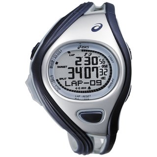 Asics Men's Challenge CQAR0302 Blue Polyurethane Quartz Watch with Digital Dial