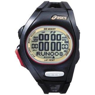 Asics Women's Race CQAR0108 Black Polyurethane Quartz Watch with Digital Dial