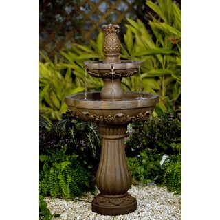 Classic Pineapple Outdoor/ Indoor Water Fountain