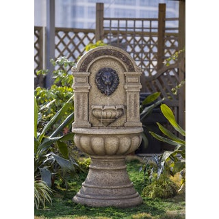 Classic Lion Head Wall Water Fountain