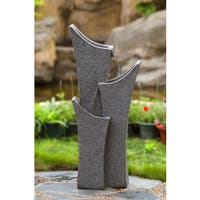 Gray Sandstone Indoor/ Outdoor Water Fountain