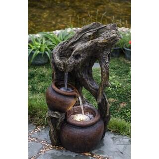 Pentole Pot Illuminated Water Fountain 14034605
