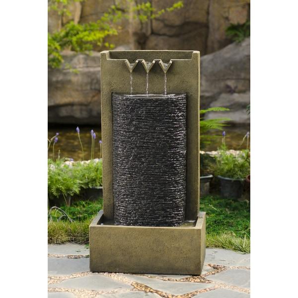 Shop Stone Wall Indoor/ Outdoor Water Fountain