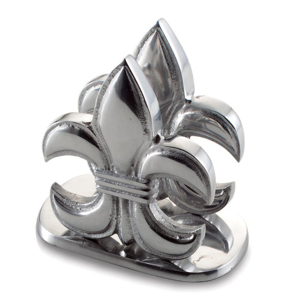Elegant Fleur-de-lis Napkin Holder