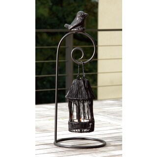 Large 13-inch Birdhouse Tealight Candle Holder