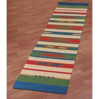 Sedona Verde Runner Rug - 2'6 x 12'
