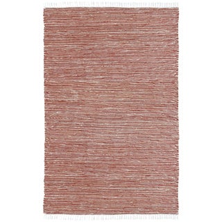 Copper Reversible Chenille Flat Weave Area Rug - 10' x 14'