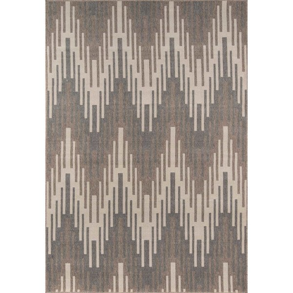 "Momeni Baja Ikat Ivory Indoor/Outdoor Area Rug - 8'6"" x 13'"