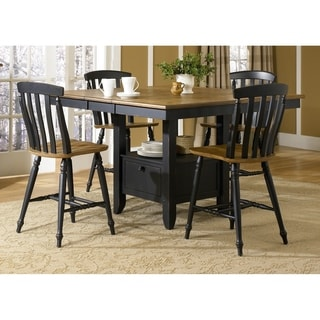 Liberty Al Fresco II Casual Slat-back 24-inch Bar Stool