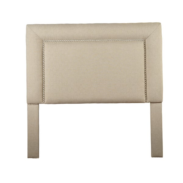 Somette St Kitts Queen/Full-size Beige/Tan Hex Stich