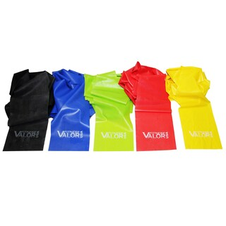 Valor Fitness LB-SET 5-piece Latex Band Set