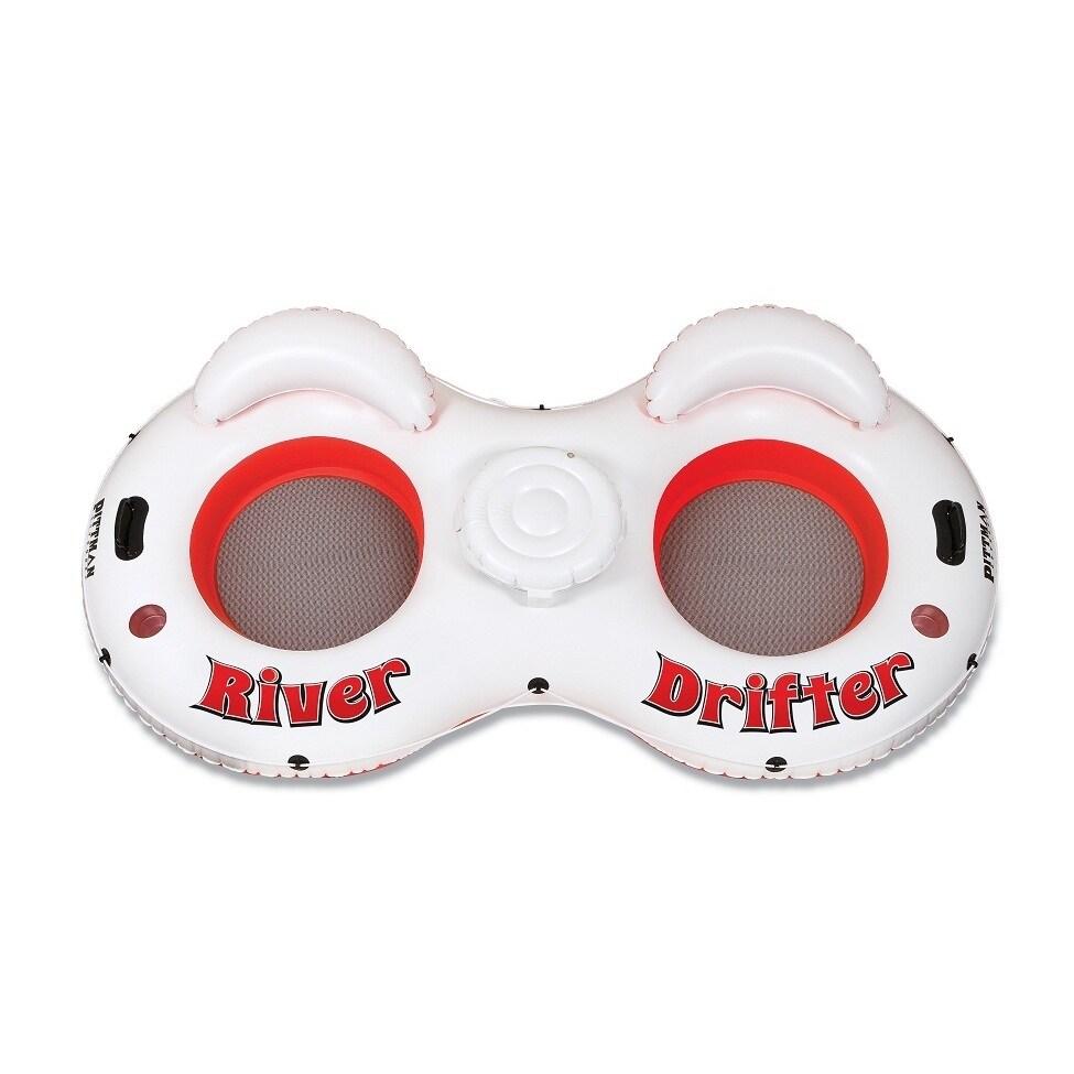 Pittman Outdoors River Drifter 2-person Float Tube (River...