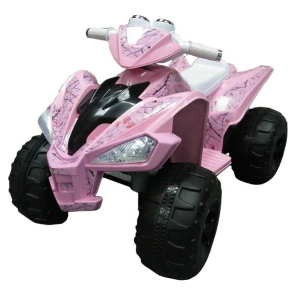 True Timber Pink Camo Super Quad