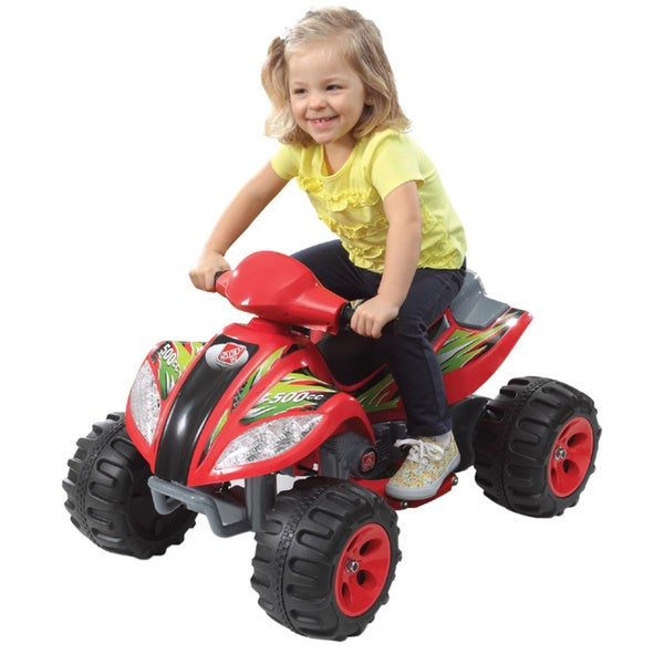 Step 2 6V Red Max Quad Battery Operated Ride On